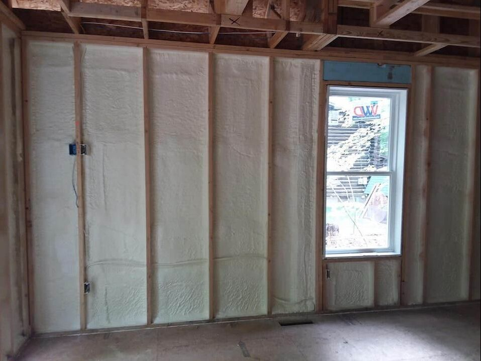 Walls Spray Foam  Insulation Madison, WI