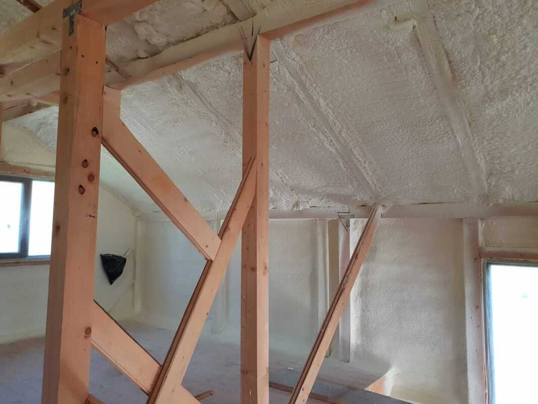 Residential Close-cell Pole Barn Insulation Wisconsin